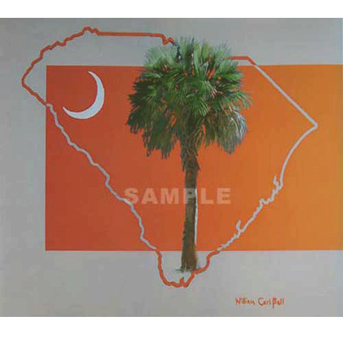 Carolina Country Orange by William Carl Bell