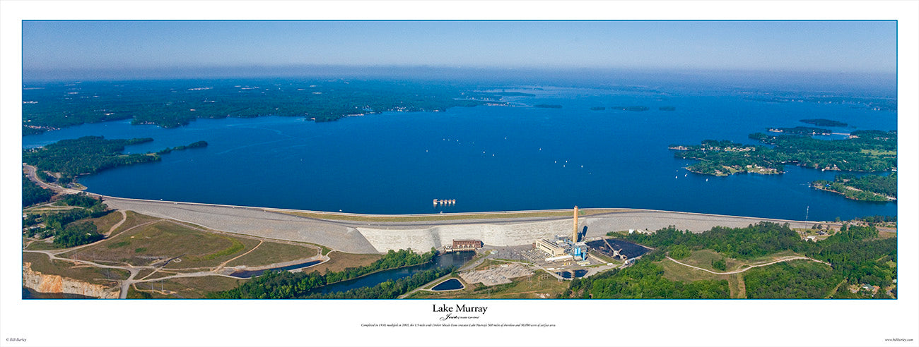 Lake Murray Dam by Bill Barley
