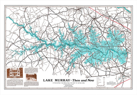 Lake Murray - Then and Now by Ed Fetner