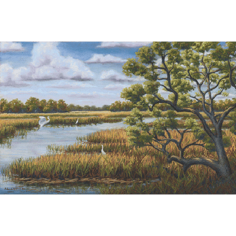 Low Country Marsh by Al Leitch