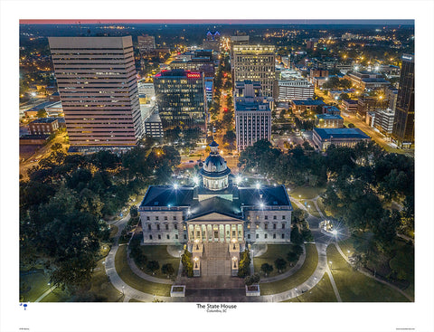 SC State House by Bill Barley