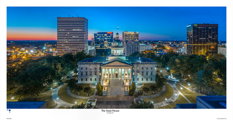 SC State House Panorama by Bill Barley