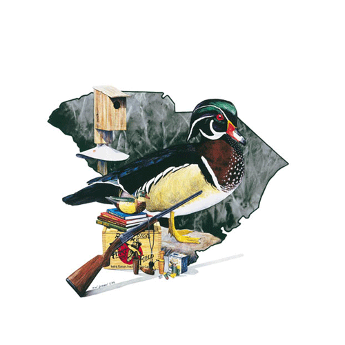 SC Traditions - Wood Duck by Robert Hickman