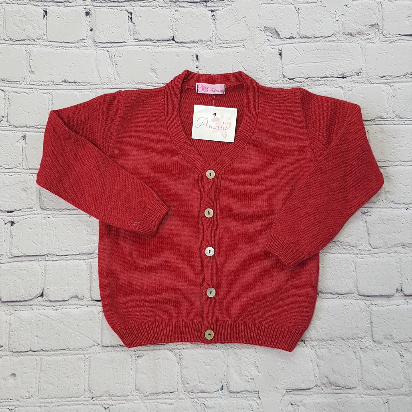 AMAIA outlet baby girl boy cardigan 6m and 2yo - FAMILY AFFAIRE