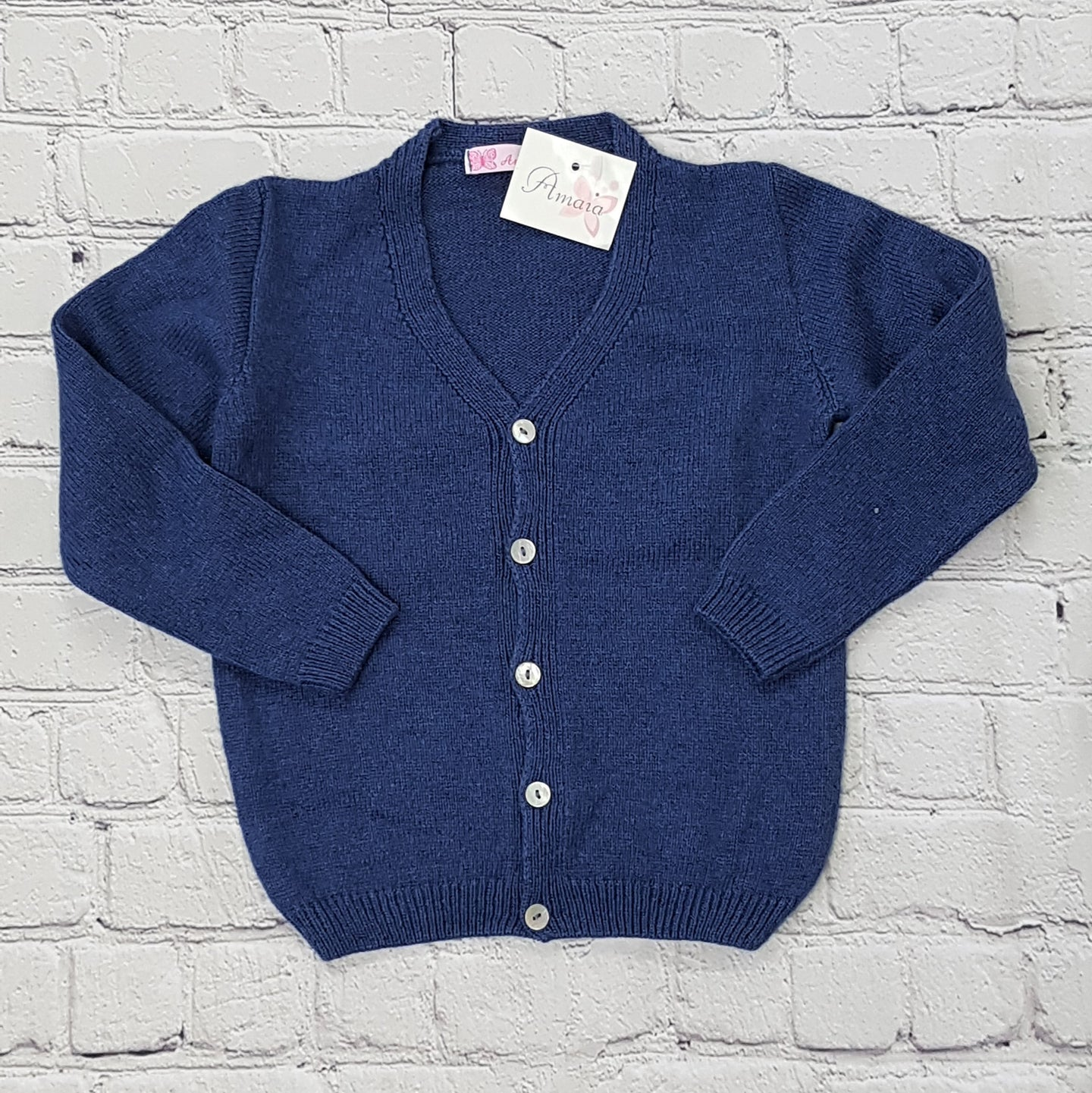 AMAIA outlet cardigan 6m and 3yo baby boy - FAMILY AFFAIRE