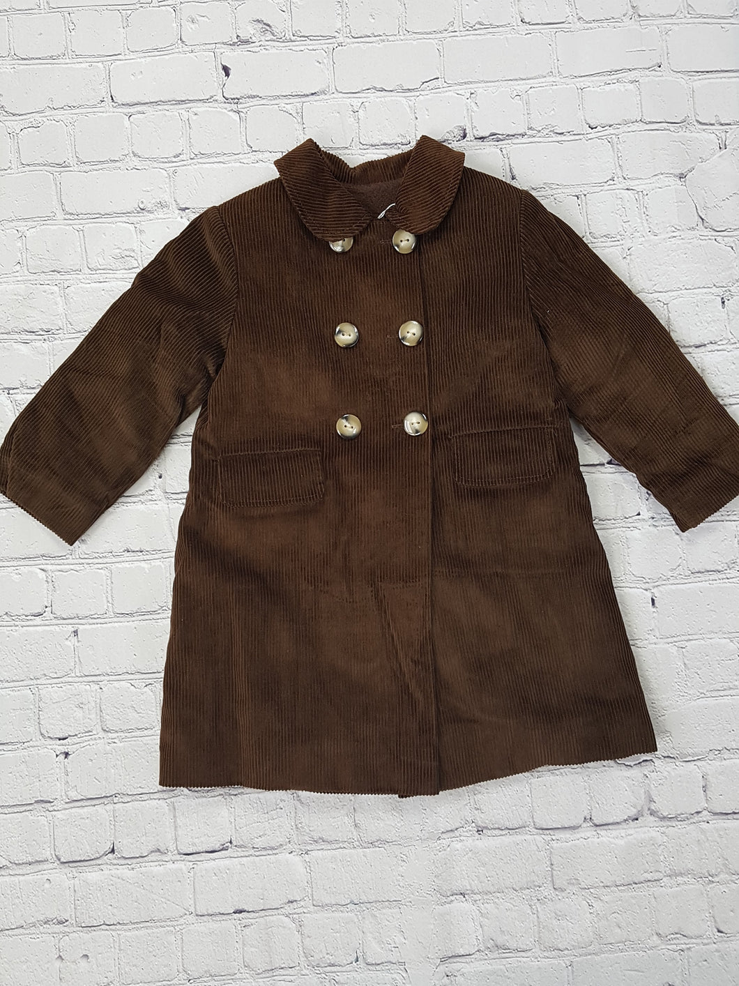 AMAIA outlet brown velvet coat - FAMILY AFFAIRE