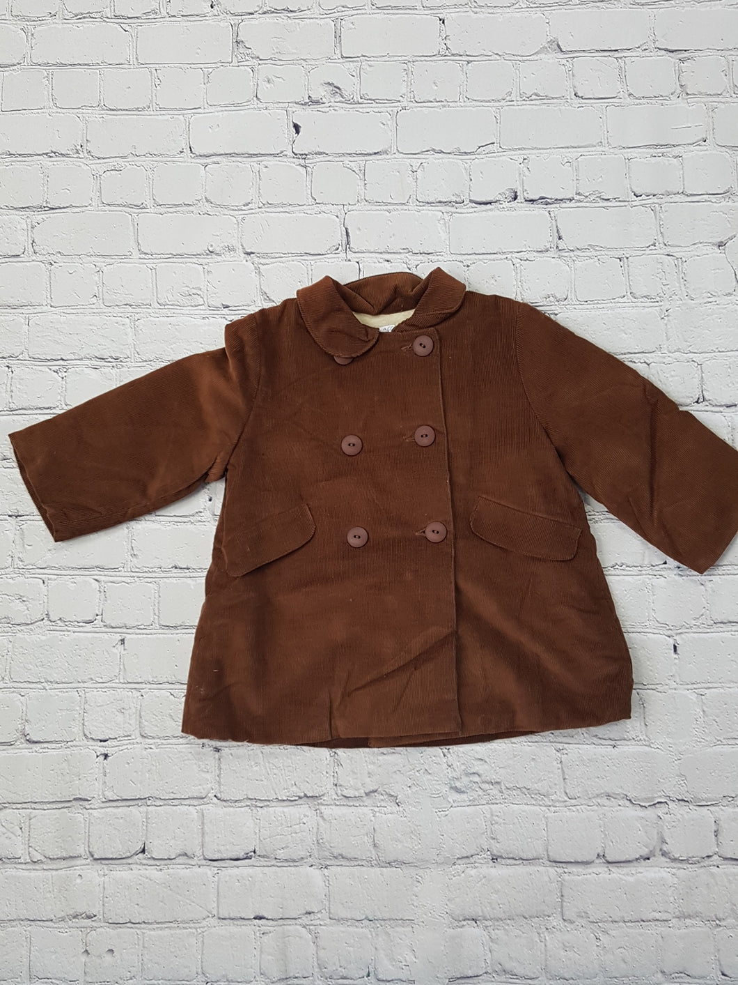 AMAIA outlet baby coat light brown 12m - FAMILY AFFAIRE