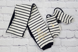 IKKS scarf and gloves girls 2-3yo