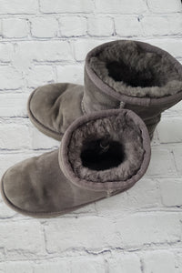 UGG grey boots shoes 28FR/10UK