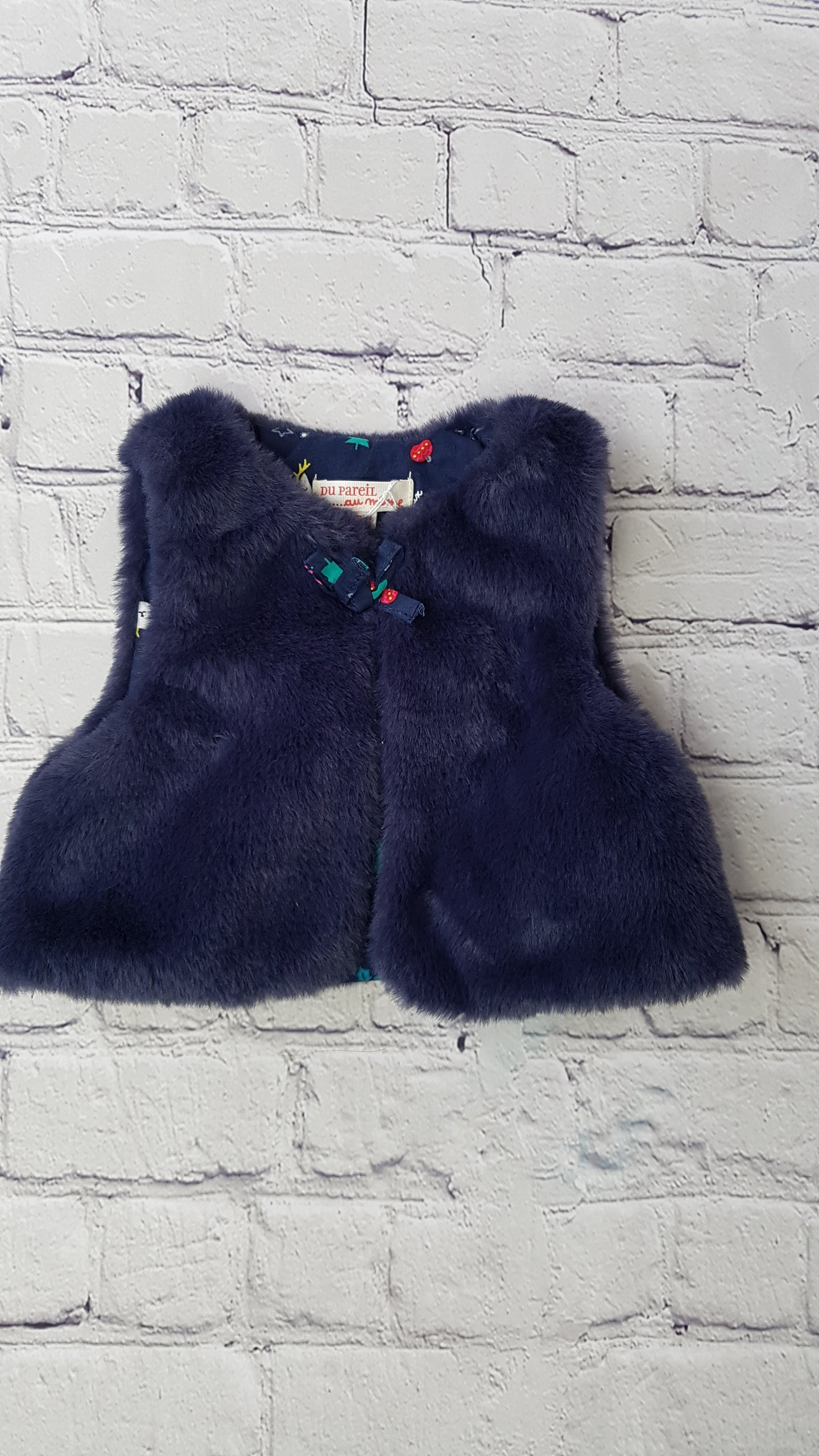 DPAM girl fur gilet 3m