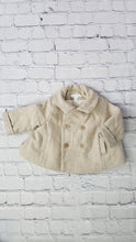 Load image into Gallery viewer, manteau beige en laine marie chantal bebe baby coat 3 months preloved
