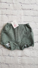 Load image into Gallery viewer, AMAIA outlet baby bloomer green chevron 6m - FAMILY AFFAIRE