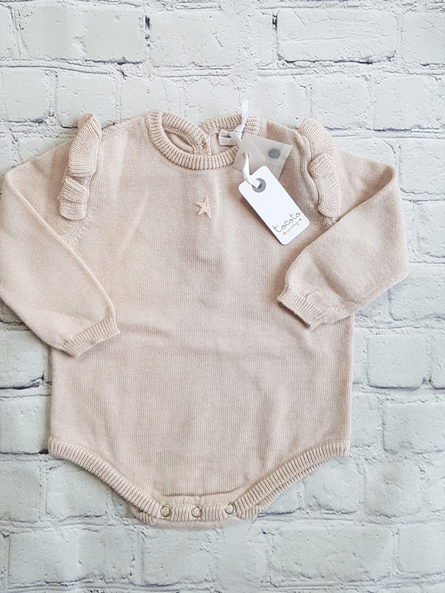 tocoto vintage baby romper outlet sale family affaire