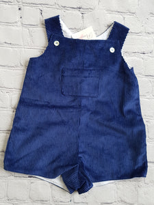 AMAIA outlet baby boy dungaree royal blue - FAMILY AFFAIRE
