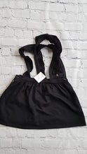 Load image into Gallery viewer, AMAIA outlet black pinafore dress girl - FAMILY AFFAIRE