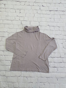 HARTFORD grey turtleneck 6yo