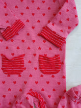 Load image into Gallery viewer, TEENY WEENY girl wool pyjama 6-9m