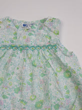Load image into Gallery viewer, JACADI girl romper liberty 6m