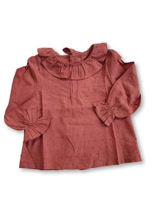 AMAIA outlet baby girl blouse 6m 12m 2yo - FAMILY AFFAIRE