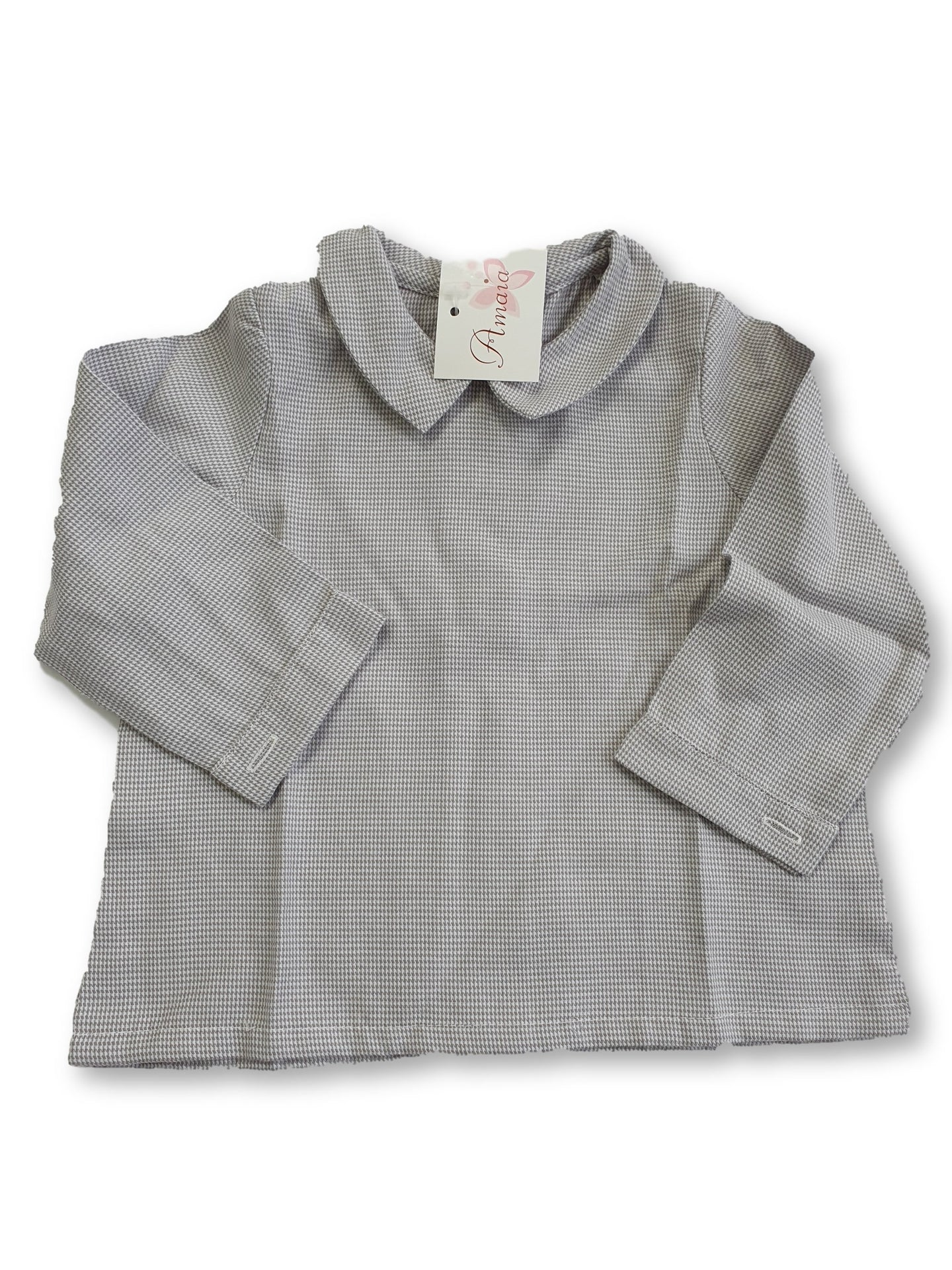 AMAIA outlet baby shirt 6m 12m - FAMILY AFFAIRE