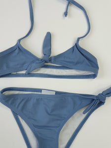 AMAIA outlet blue girl swimsuit - FAMILY AFFAIRE