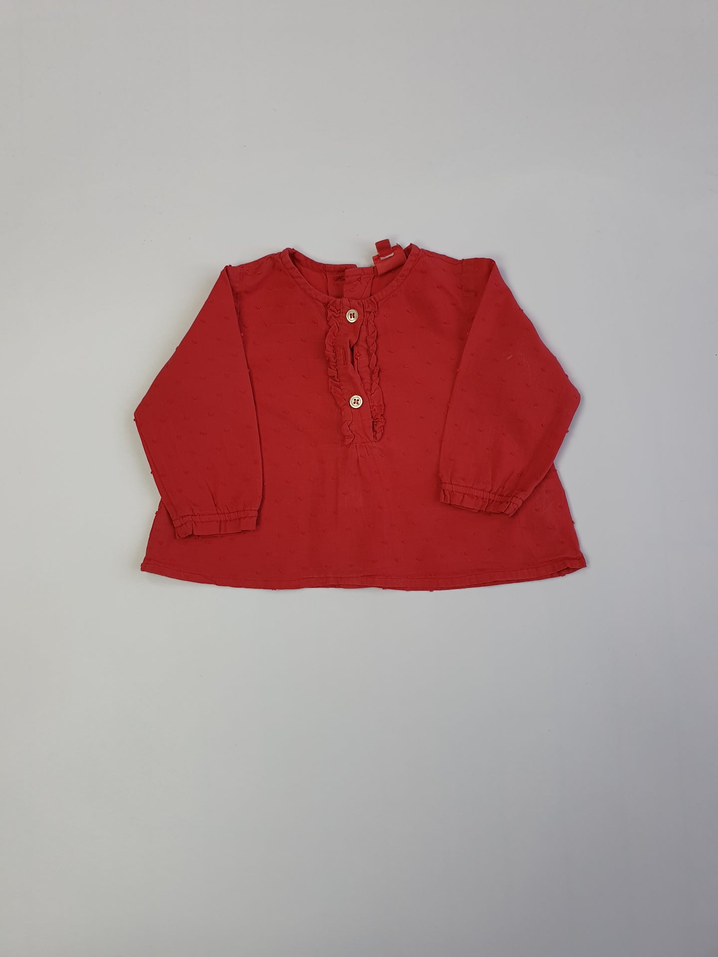 BONTON blouse girl 6m