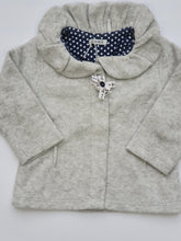 Load image into Gallery viewer, IKKS girl grey vest 12m