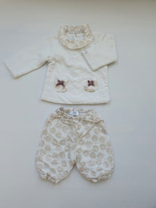 JACADI girl set 6m