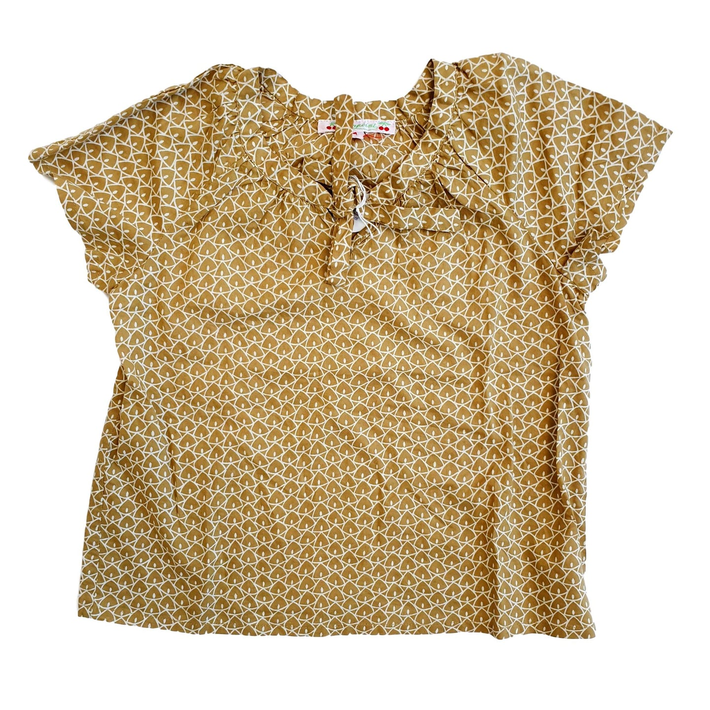 BONPOINT girl blouse 4yo