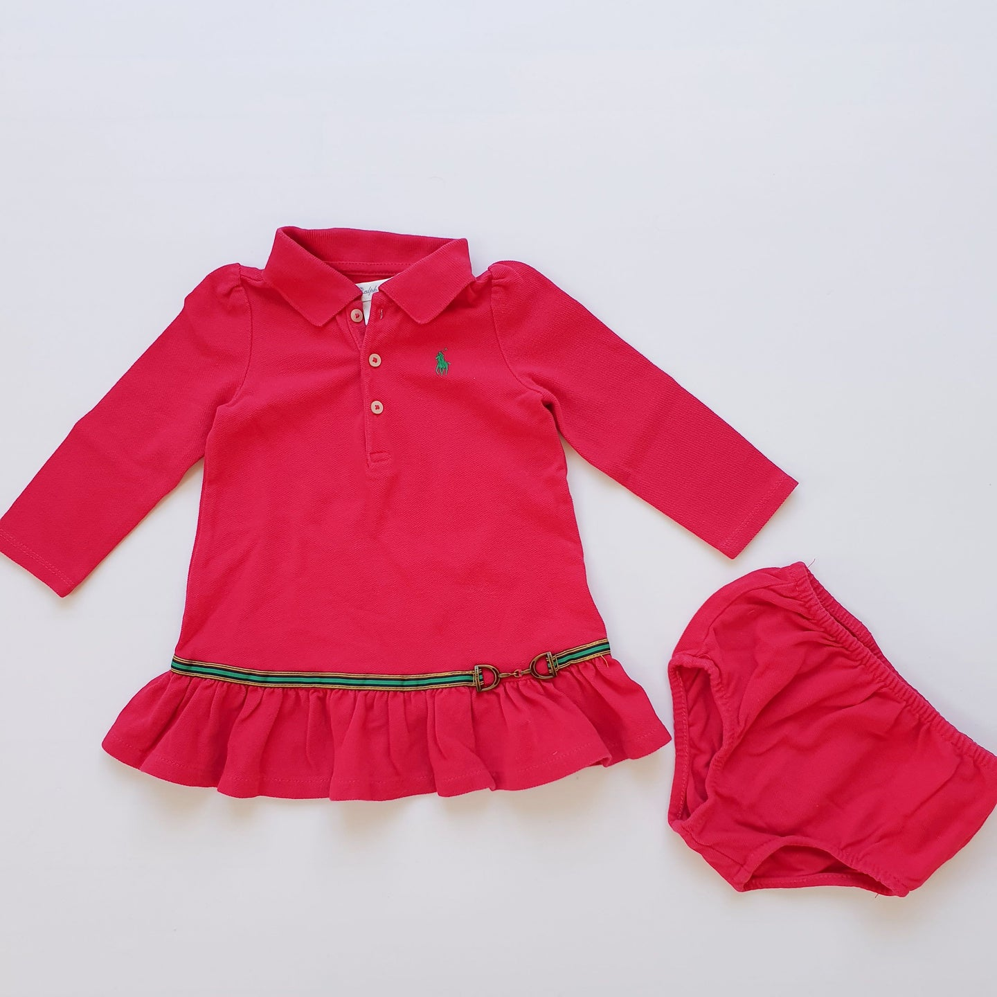 RALPH LAUREN girl dress 12m