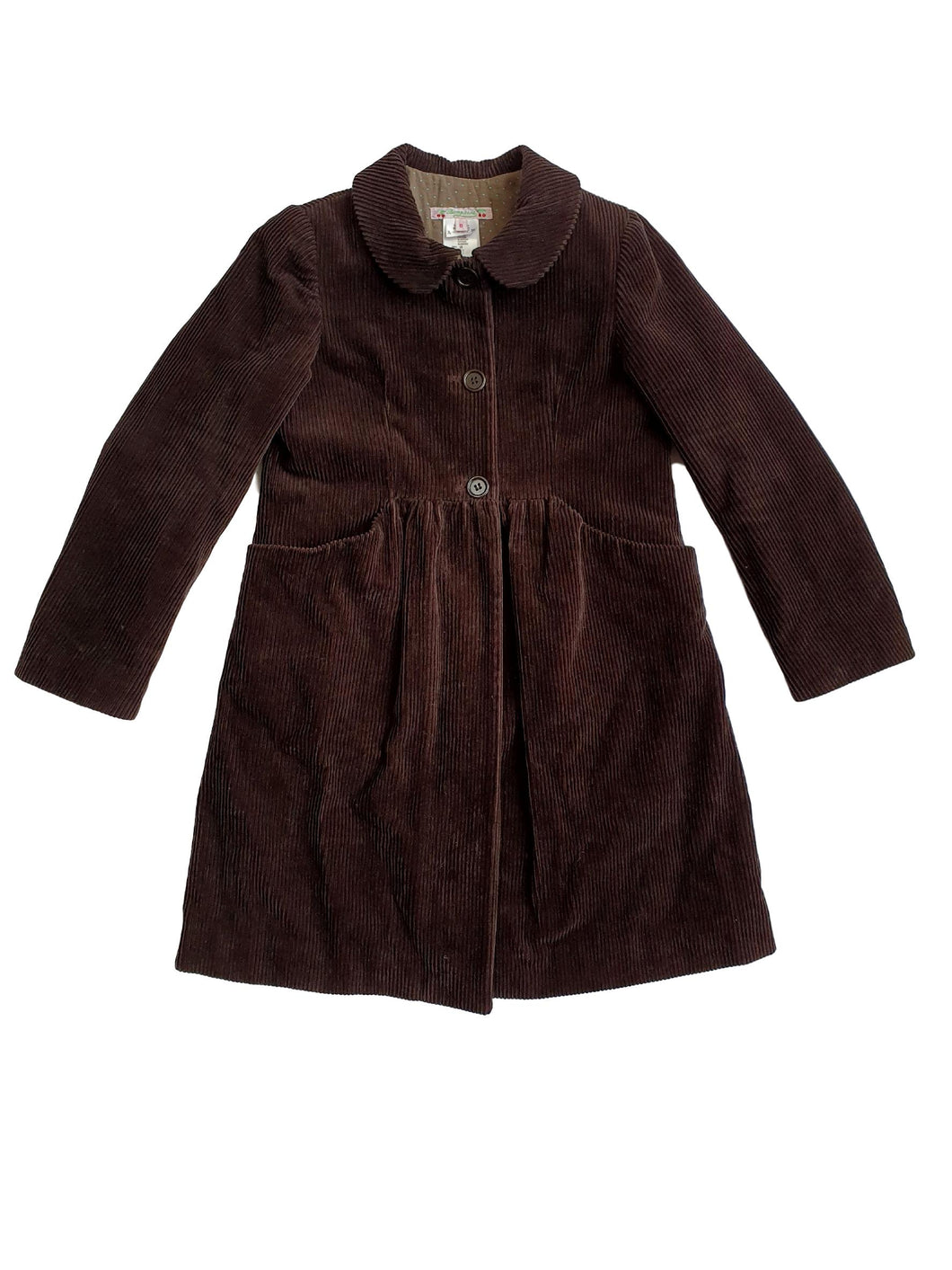 BONPOINT girl coat 8yo