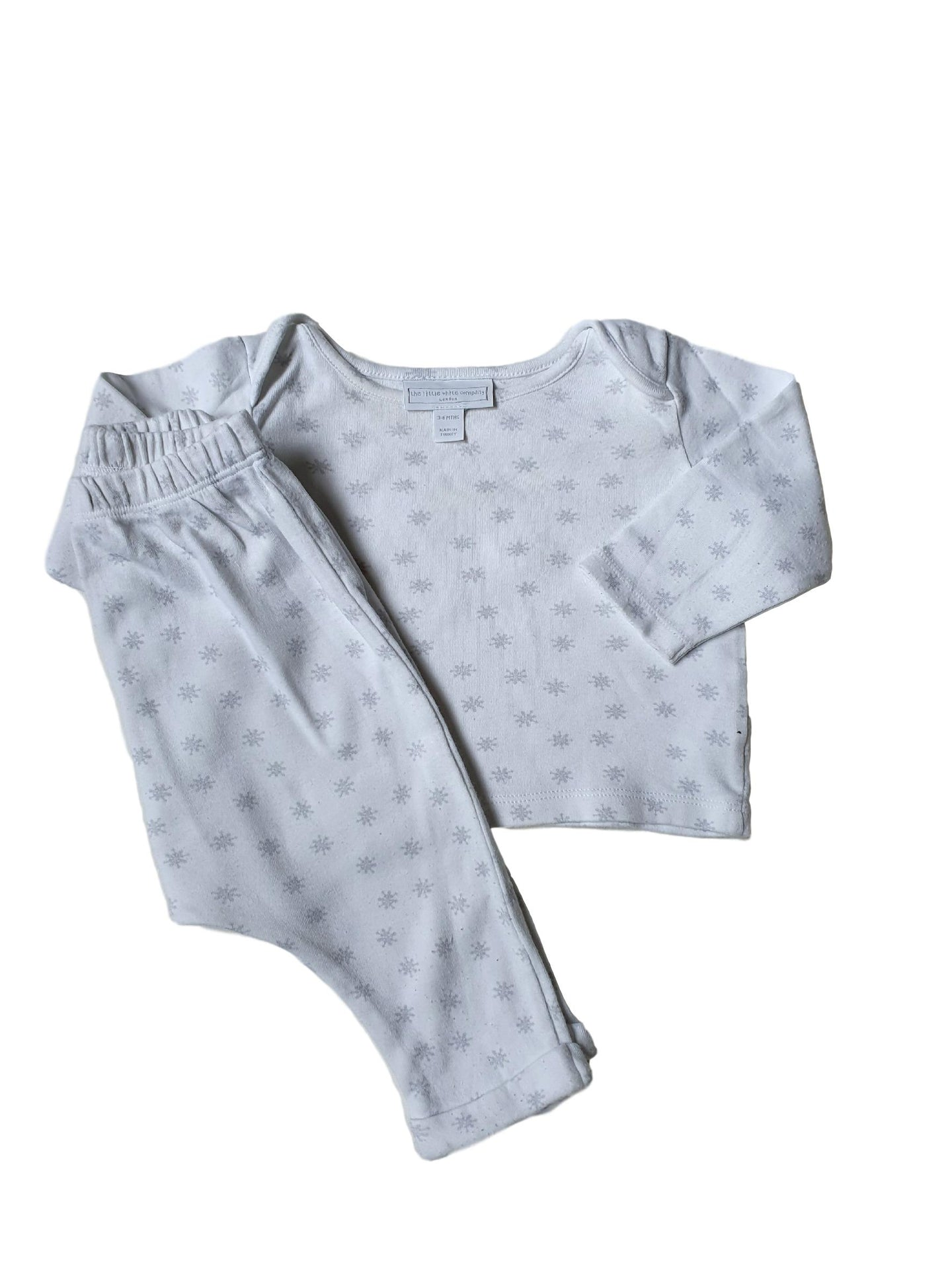 THE LITTLE WHITE COMPANY boy or girl set 3-6m
