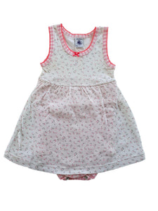 PETIT BATEAU girl body dress 18m