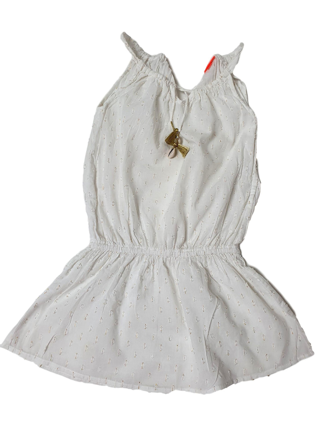 SUNUVA girl dress 5-6 yo defect