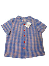 Load image into Gallery viewer, AMAIA outlet boy shirt 6m