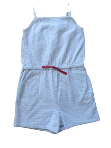 THE LITTLE WHITE COMPANY girl jumpsuit 7/8yo