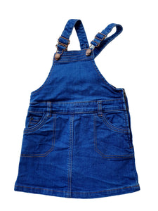 CYRILLUS denim dress 4yo