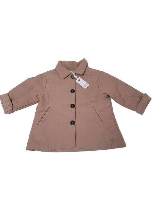 TOCOTO VINTAGE OUTLET girl coat 6m and 18m