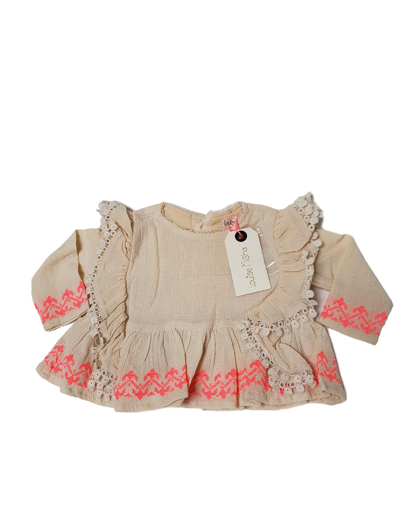 LOUISE MISHA OUTLET girl blouse 6m
