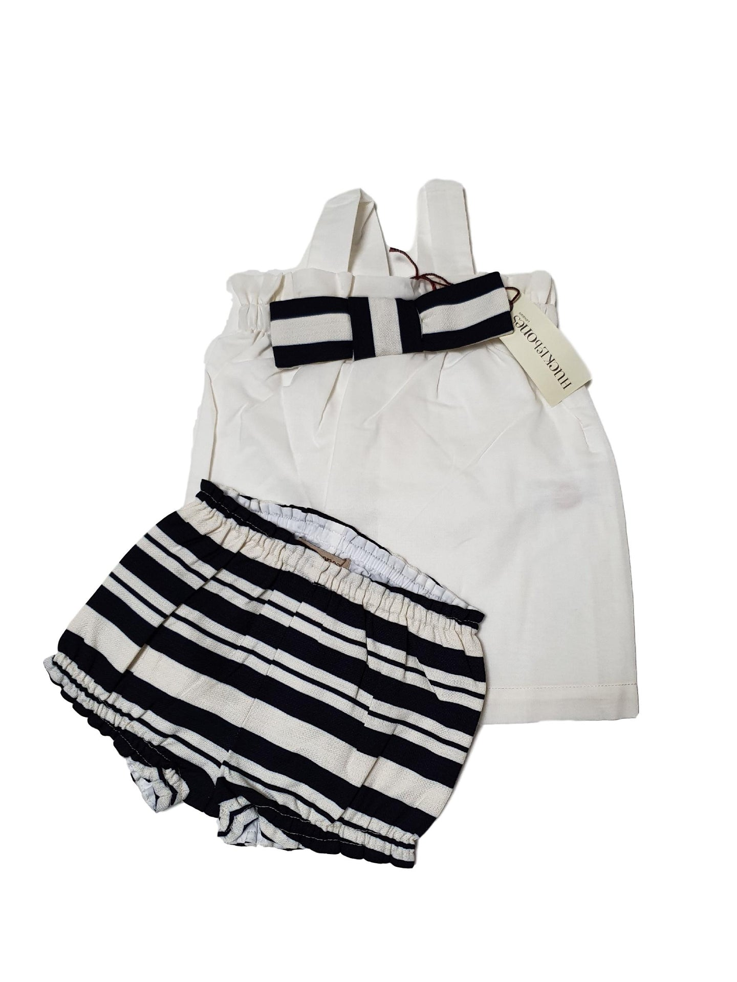 HUCKLOEBONES OUTLET girl set 12m
