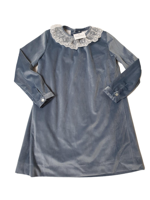 maya dress porcelain blue amaia outlet
