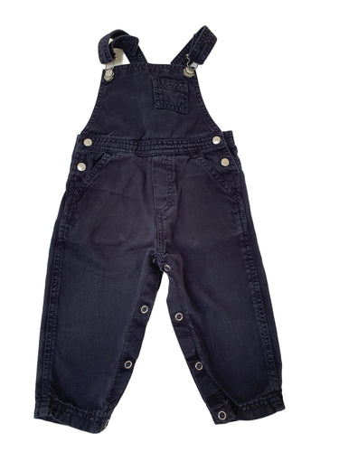 PETIT BATEAU boy or girl dungaree 12m
