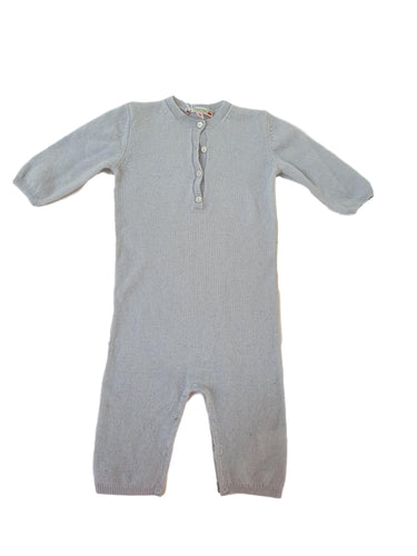 BONPOINT girl or boy overall cashmere 12m