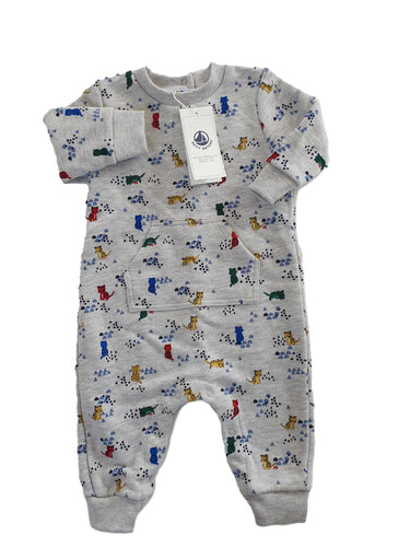 PETIT BATEAU NEW boy or girl overall 6m