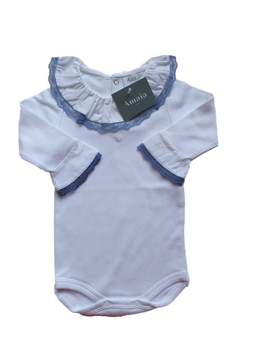 AMAIA OUTLET girl or boy bodysuit 6m and 12m