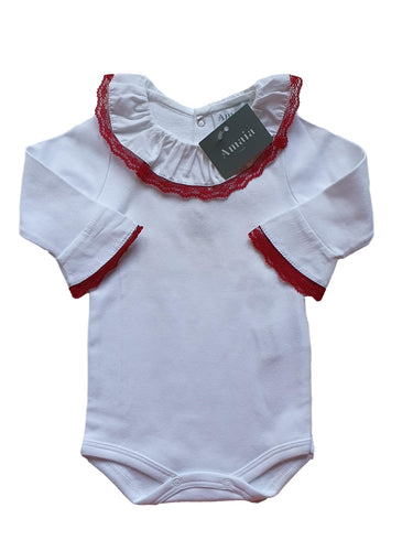 AMAIA OUTLET girl bodysuit 6m and 12m