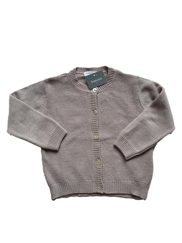 AMAIA OUTLET girl cardigan 3-4-8yo