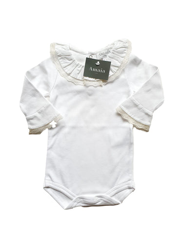 AMAIA OUTLET boy or girl bodysuit 6m