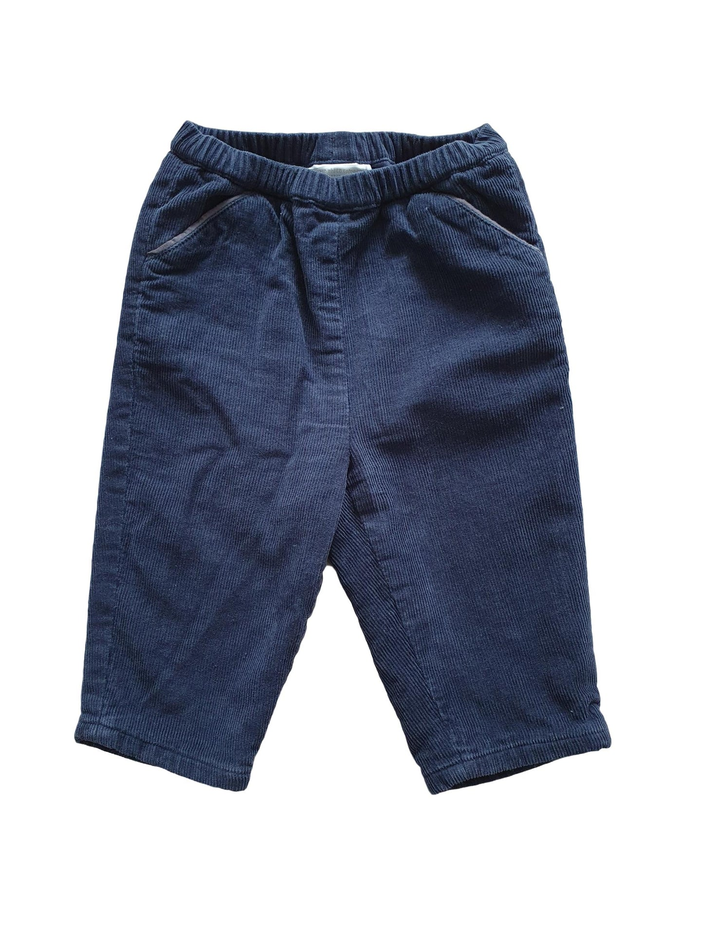 THE LITTLE WHITE COMPANY boy trousers 6-9m