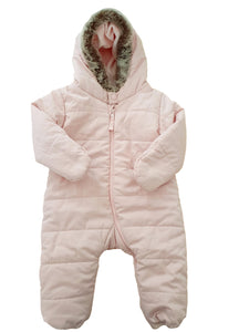 THE LITTLE WHITE COMPANY girl snowsuit 6-9m